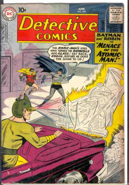 Detective Comics 280 - Atomic-man