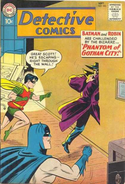 Detective Comics 283 - Robin - Batman - Phantom