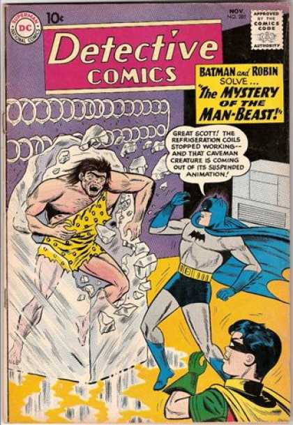 Detective Comics 285 - Man-beast - Batman - Bat Man - Dc Comics - Nov - Sheldon Moldoff
