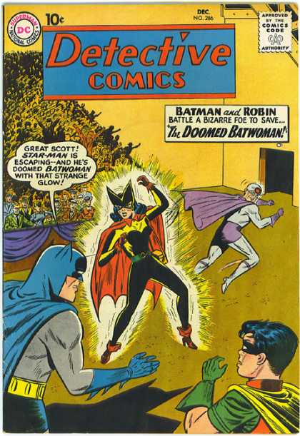 Detective Comics 286 - Superman National Comics - Approved By The Comics Code - Batman - Robin - Superhero