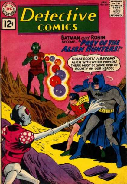 Detective Comics 299 - Batman - Robin - Dc Comics - No 299 - Aliens