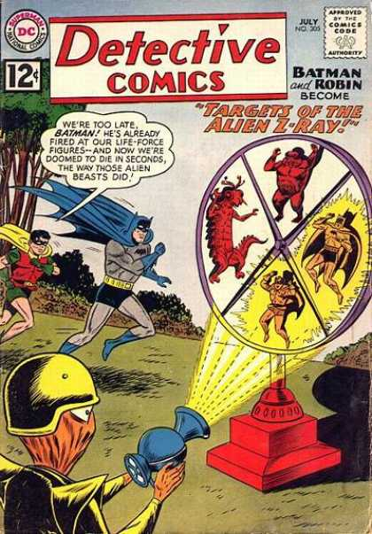 Detective Comics 305 - Batman - Robin - Ray