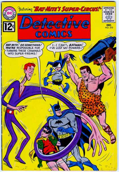 Detective Comics 310 - Batman - Detective Comics - Bat-mites Super-circus - December - No 310 - Sheldon Moldoff