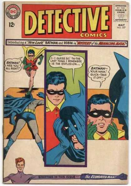 Detective Comics 327 - Batman - Robin - Elongated Man - Carmine Infantino