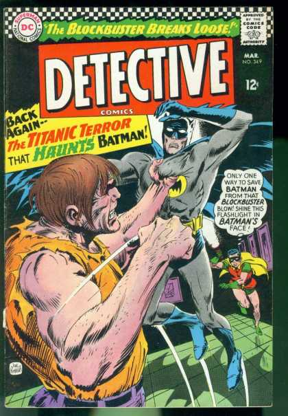 Detective Comics 349 - Batman - Robin - Joe Kubert