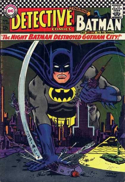 Detective Comics 362 - Carmine Infantino, Murphy Anderson