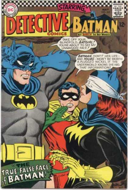 Detective Comics 363 - Pin The Tail On The Batman - Prisioner - Threes A Crowd - If We Have To Cover Our Face So Do You - Rough - Carmine Infantino
