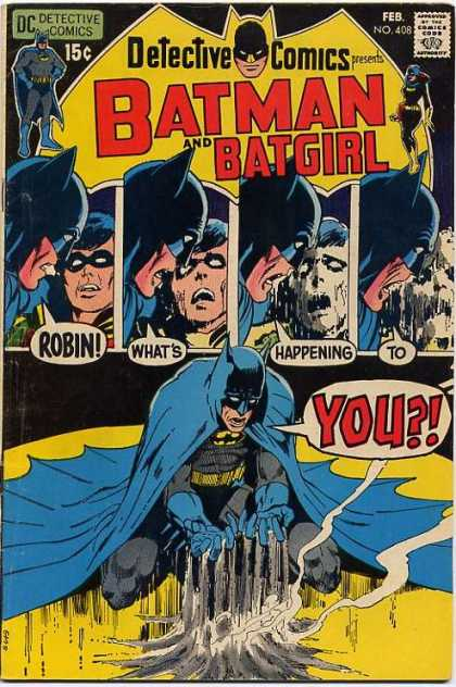 Detective Comics 408 - Robin - Death - Dust - Neal Adams