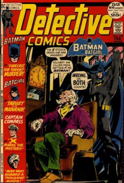 Detective Comics 420 - Batman - Batgirl - Detective - Wings - Men - Dick Giordano, Neal Adams