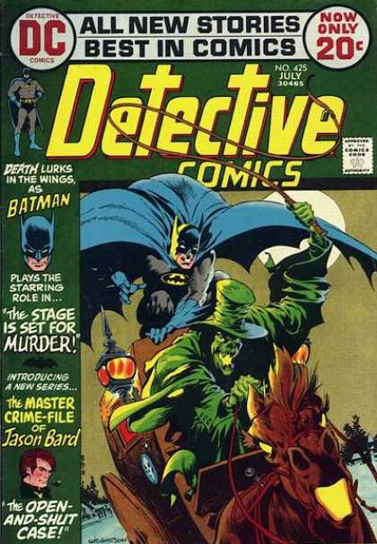 Detective Comics 425 - Batman - Horse - Whip - Monster - Moon - Bernie Wrightson