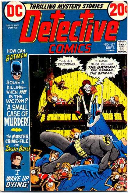 Detective Comics 427 - Jason Bard - Batman - Michael Kaluta