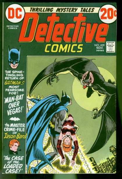 Detective Comics 429 - Batman - Man-bat - Dc - Jason Bard - November - Nick Cardy