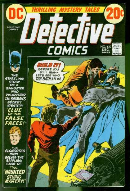 Detective Comics 430 - Detective Comics - Batman - Haunted - Gangster - Mystery - Jim Aparo