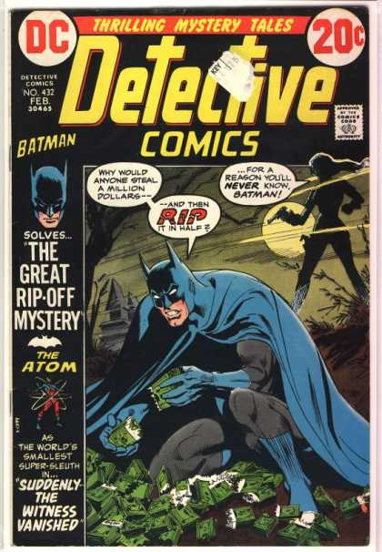 Detective Comics 432 - Batman - Atom - Woman - Dc - The Atom - Dick Giordano