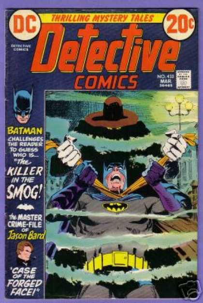 Detective Comics 433 - Smog - Jason Bard - Batman - Dick Giordano