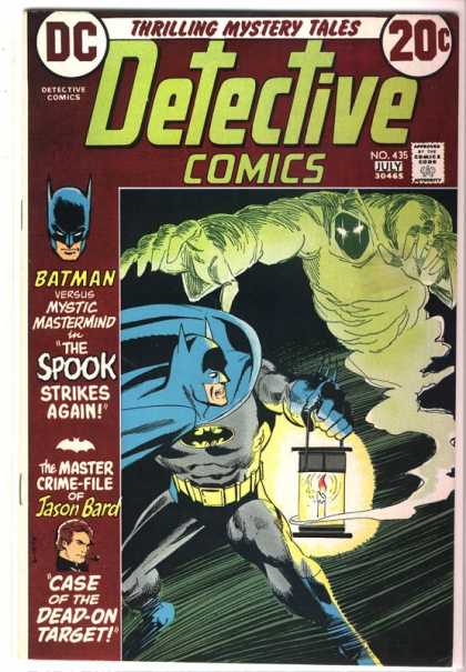 Detective Comics 435 - Spook - Jason Bard - Batman - Mystic - Strikes Again - Dick Giordano