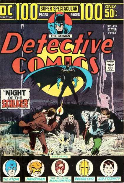 Detective Comics 439 - The Batman - Night Of The Stalker - Super Spectacular - The Atom - Hawkman - Neal Adams
