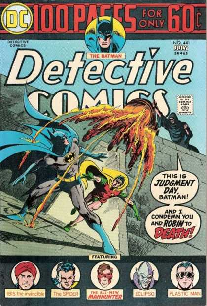 Detective Comics 441 - Eclipso - Batman - Robin - Spider - Manhunter - Jim Aparo