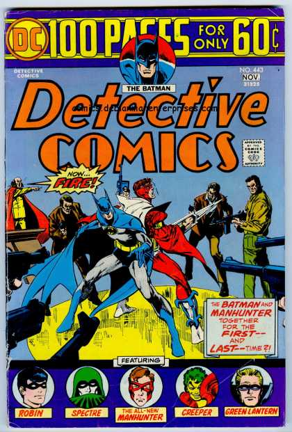 Detective Comics 443 - Dc Comics - 100 Pages - The Batman - Robin - Spectre - Jim Aparo