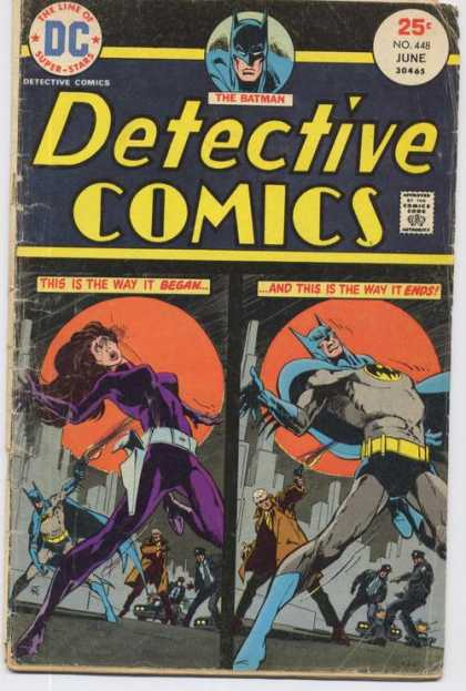 Detective Comics 448 - Batman - No 448 - June - Dc - Stun - Jim Aparo