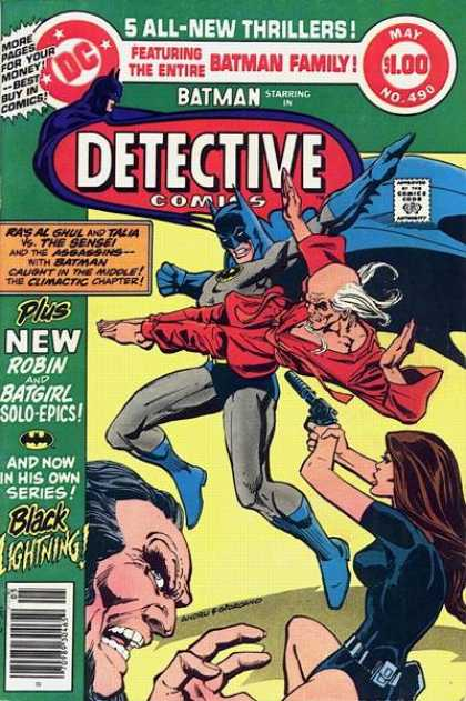 Detective Comics 490 - Dc - May - 5 All-new Thrillers - Batman - Approved By The Comics Code - Dick Giordano, Ross Andru