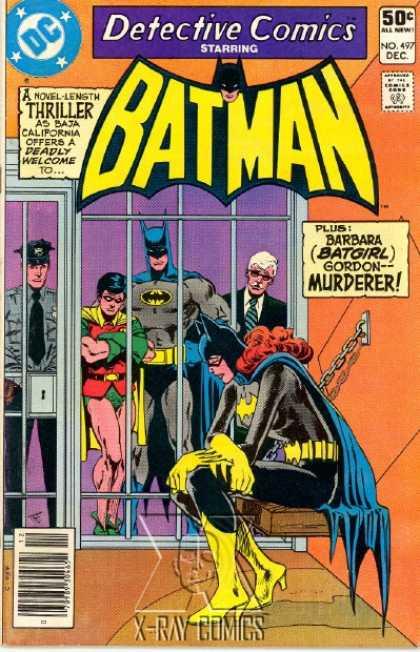 Favorite comic book version of Batgirl? 497-1