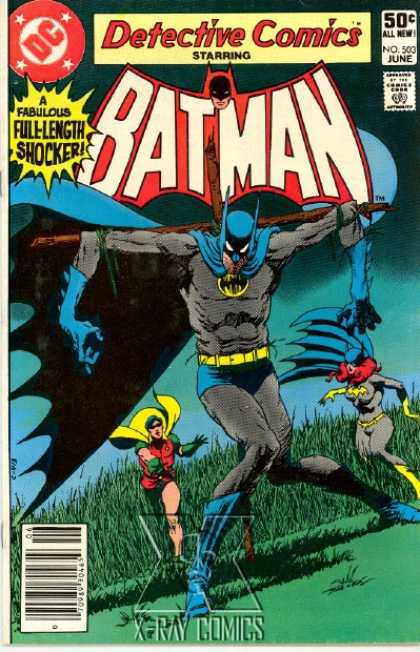 Detective Comics 503 - Robin - Batgirl - Batman - A Fabulous Full-length Shocker - No 503 June - Jim Starlin