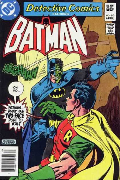 Detective Comics 513 - Two-face - Robin - Batman - Dc - Arghhhh - Dick Giordano, Richard Buckler