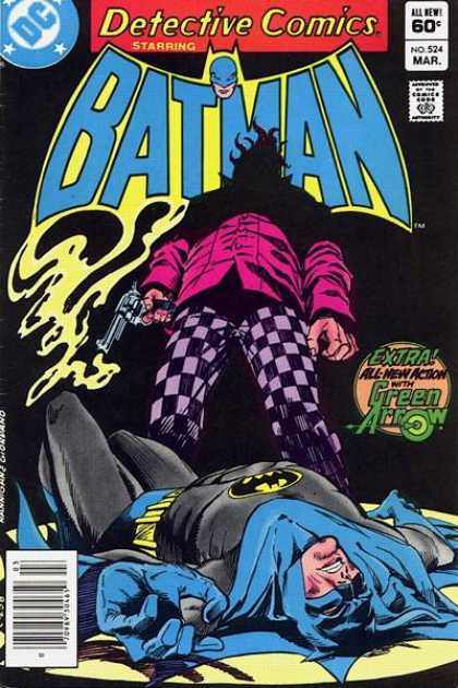 Detective Comics 524 - Batman - Green Arrow - Detective Comics - All New Action - Gun - Dick Giordano