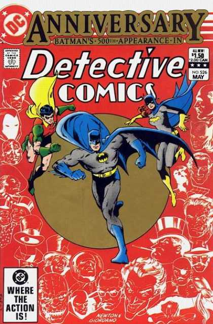 Detective Comics 526 - Hero - Fly - Cope - Blue - Color - Dick Giordano