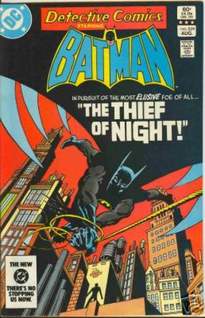 Detective Comics 529 - Shadow - Cape - Gotham - Dick Giordano