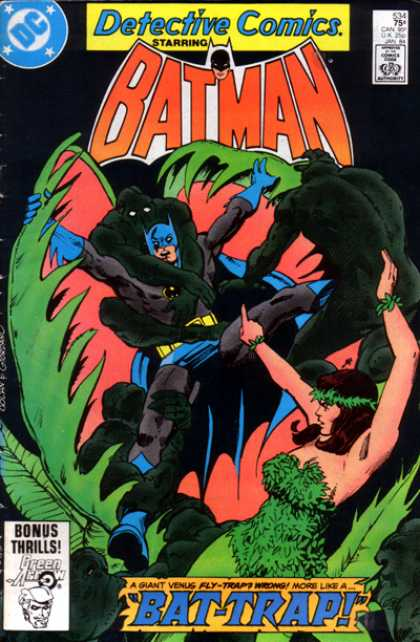 Detective Comics 534 - Woman - Batman - Approved By The Comics Code - Superhero - Starring - Dick Giordano, Gene Colan