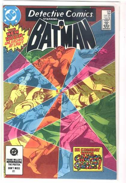 Detective Comics 535 - The New Robin - Crazy Quilt - Frank Millers Ronin - Fighting Villians - Black Mask - Dick Giordano, Gene Colan