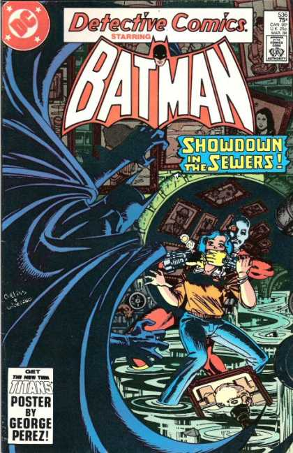 Detective Comics 536 - Batman - Joker - Girl - Hostage - Sewers - Dick Giordano