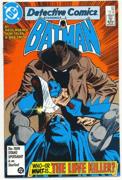 Detective Comics 565 - Axe - Doug Moench - Gene Colan - Bob Smith - Killer - Dick Giordano, Gene Colan