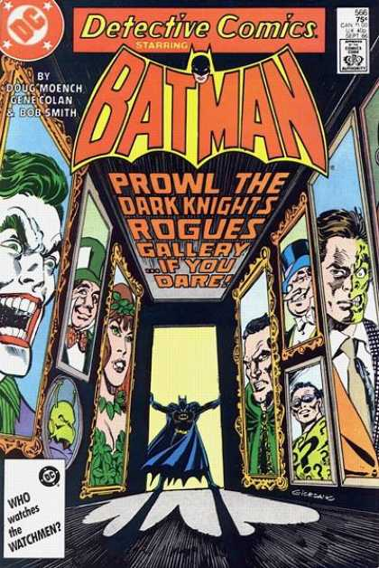 Detective Comics 566 - Joker - Penguin - Two Face - Riddler - Batman - Dick Giordano