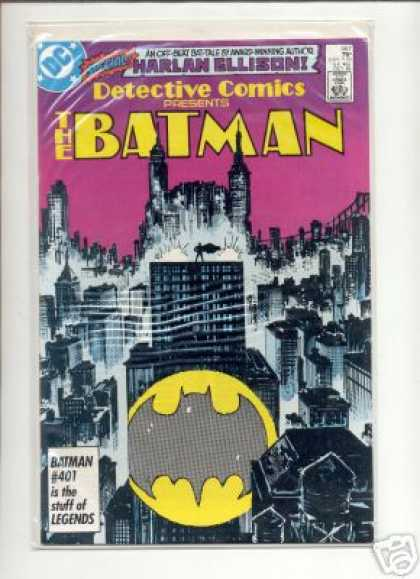 Detective Comics 567 - Harlan Ellison - Skyline - Batman - 401 - Legends - Klaus Janson