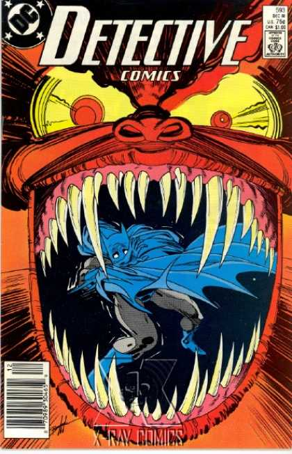 Detective Comics 593 - Batman - Teeth - Dc - Comics Code - Superhero - Norm Breyfogle