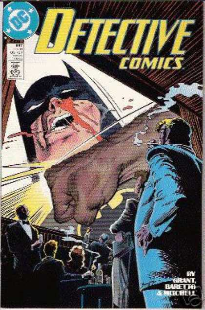 Detective Comics 597 - Batman - Punch - Smoking - Grant Baretta U0026 Mitchell - Nosebleed - Norm Breyfogle