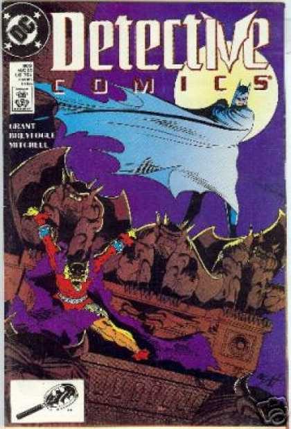 Detective Comics 603 - Dollar Comics - Approved By The Comics Code Authority - Moon - Grant - Superman - Norm Breyfogle