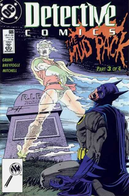 Detective Comics 606 - Dc - The Mud Pack - Comics Code Authority - Grant - Breyfogle - Norm Breyfogle