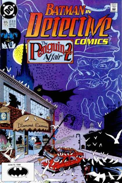 Detective Comics 615 - Batman - Doves - Penguin - Dc - The Penguin 2 Affair - Norm Breyfogle