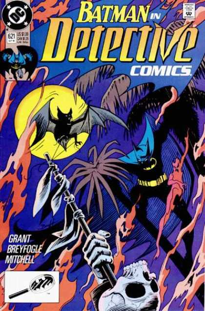 Detective Comics 621 - Batman - Bat - Approved By The Comics Code - Grant - Breyfogle - Norm Breyfogle