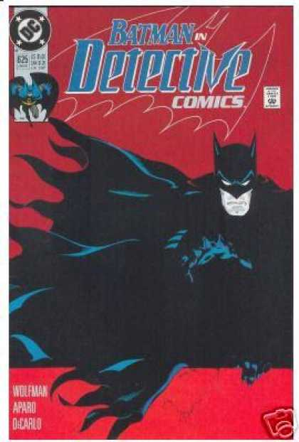 Detective Comics 625 - Batman - Red - Wolfman - Aparo - Dc - Michael Golden