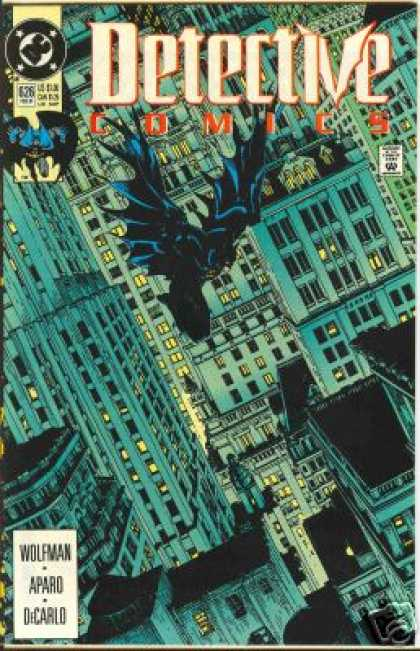 Detective Comics 626 - Batman - The Haunting Nights Of Albama - Killer In Night - Flying Killer - The Bat In Form Of Killer - Michael Golden