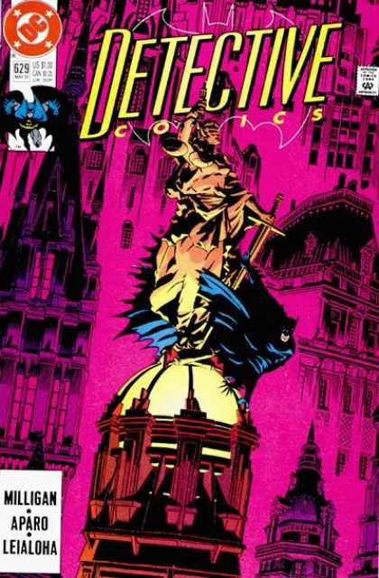 Detective Comics 629 - Batman - Michael Golden