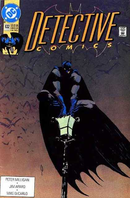 Detective Comics 632 - Batman - Bats - Lamp Post - 632 - Dc Comics