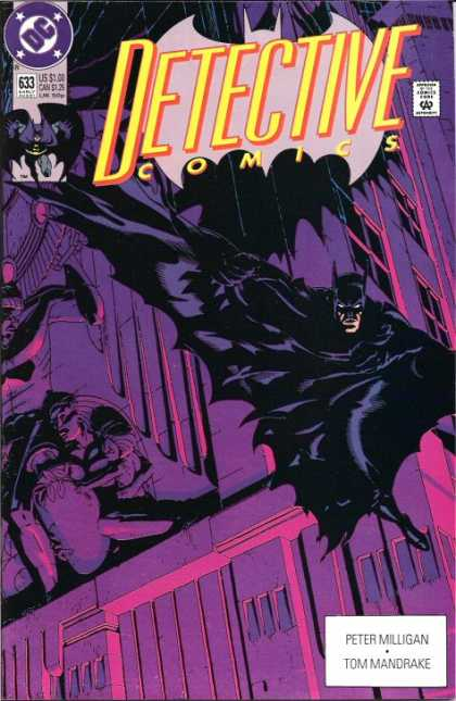 Detective Comics 633 - Batman - Hero - Darkness - Villian - Cape - Michael Golden