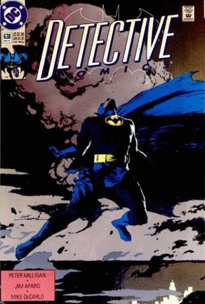 Detective Comics 638 - Batman - Now He Investigates - Does This Mean Theres Donuts - Oh The Power - The Night Cant Hide You - Scott Hampton