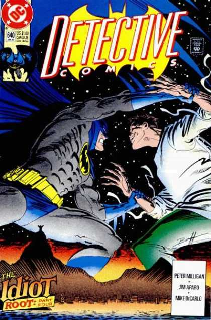 Detective Comics 640 - Batman - 640 - The Idiot - Peter Milligan - Jim Apard - Norm Breyfogle